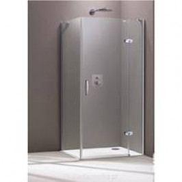 Sprchové dveře Huppe Aura Elegance jednokřídlé 90 cm, čiré sklo, chrom profil, pravá 400408.092.322