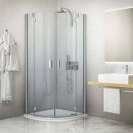 Sprchový kout Roltechnik čtvrtkruh 90 cm, univerzální 283-9000000-06-02