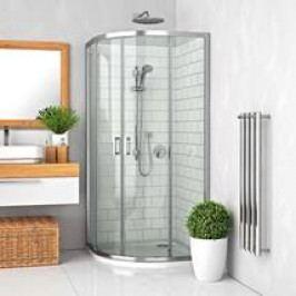 Sprchový kout Roltechnik čtvrtkruh 80 cm, univerzální 555-8000000-00-02