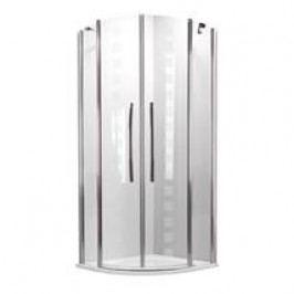 Sprchový kout Roltechnik čtvrtkruh 90 cm, univerzální 702-900E000-00-17