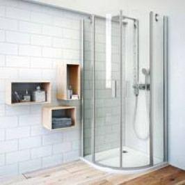 Sprchový kout Roltechnik čtvrtkruh 90 cm, univerzální 723-9000000-01-02