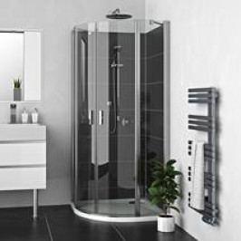 Sprchový kout Roltechnik čtvrtkruh 100 cm, univerzální 225-1000000-00-02