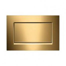 Dvojčinné ovládací tlačítko Geberit Sigma zinek, zlatá 115.893.45.1