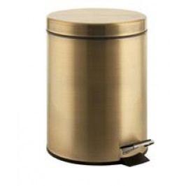 DIAMOND odpadkový koš kulatý 3l, bronz