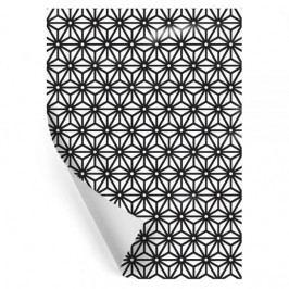 TAFELGUT Balicí papír Caleido Black Tafelgut 68x48, černá barva, bílá barva, papír