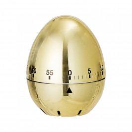 Bloomingville Kuchyňská minutka - Golden Egg, zlatá barva, plast