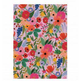 Rifle Paper Co. Balicí papír s květinami Garden Party - 1 list, růžová barva, papír