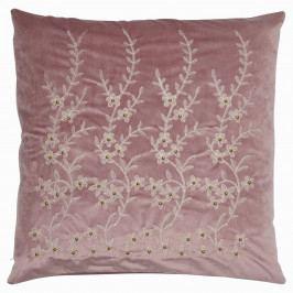 GREEN GATE Povlak na polštář Lavender Flower Velur 50x50, fialová barva, textil