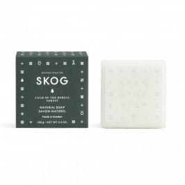 SKANDINAVISK Tuhé mýdlo SKOG (les) 100 g, zelená barva, papír