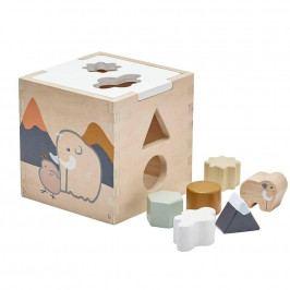 Kids Concept Dětská dřevěná kostka NEO Shape Sorter, multi barva, dřevo