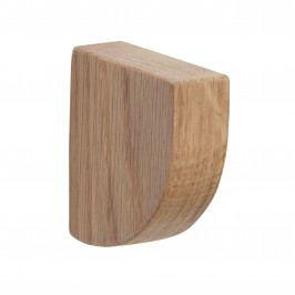 Hübsch Dřevěný věšák Oak Nature, přírodní barva, dřevo