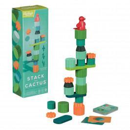 Ridley's Games Room Dětská hra Stack the Cactus, multi barva, dřevo, papír