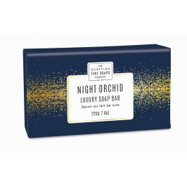 SCOTTISH FINE SOAPS Luxusní tuhé mýdlo Night Orchid, modrá barva, papír