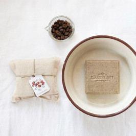 CASTELBEL Luxusní mýdlo Coffe, přírodní barva, textil