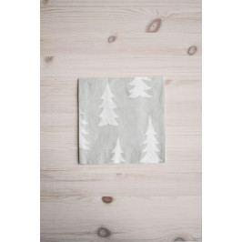 Fine Little Day Papírové béžové ubrousky Gran, béžová barva, papír