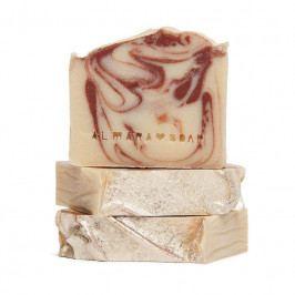 Almara Soap Přírodní mýdlo Ohnivý santal, béžová barva, hnědá barva