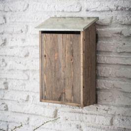 Garden Trading Poštovní schránka Spruce, přírodní barva, dřevo, kov