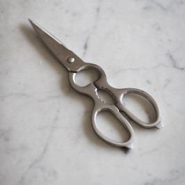 Garden Trading Multifunkční kuchyňské nůžky Steel, stříbrná barva, kov