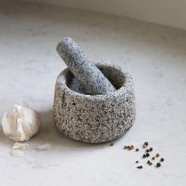 Garden Trading Hmoždíř z čisté žuly Granite, přírodní barva, kámen
