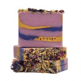 Almara Soap Přírodní mýdlo Letní romance, fialová barva, modrá barva