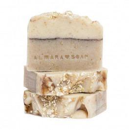 Almara Soap Přírodní mýdlo Ovesný koláč, béžová barva