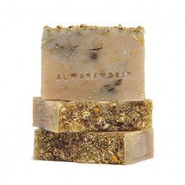 Almara Soap Přírodní mýdlo Intimní, žlutá barva, béžová barva