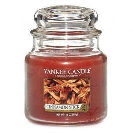 Yankee Candle Svíčka Yankee Candle 411gr - Cinnamon Stick, oranžová barva, hnědá barva, sklo, vosk