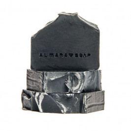 Almara Soap Přírodní mýdlo Black As My Soul, šedá barva