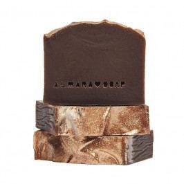 Almara Soap Přírodní mýdlo Gold Chocolate, hnědá barva