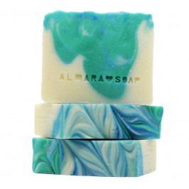 Almara Soap Přírodní mýdlo Morning Shower, modrá barva