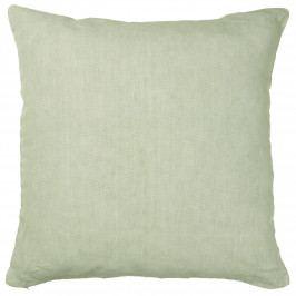 IB LAURSEN Lněný povlak na polštář Dusty green 50x50, zelená barva, textil