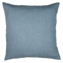 IB LAURSEN Lněný povlak na polštář Dusty blue 50x50, modrá barva, textil