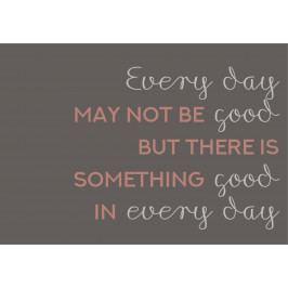 IB LAURSEN Plechová cedule Something Good in Every Day, multi barva, kov
