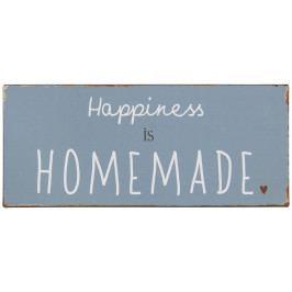 IB LAURSEN Plechová cedule Happiness Is Homemade, multi barva, kov
