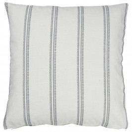 IB LAURSEN Povlak na polštář Weaving Stripes, modrá barva, šedá barva, bílá barva, textil