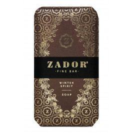 ZADOR Luxusní mýdlo ZADOR - Kouzlo zimy, hnědá barva, zlatá barva