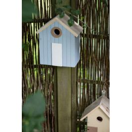 IB LAURSEN Ptačí budka Beach House Blue, modrá barva, dřevo