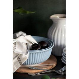 IB LAURSEN Salátová mísa Mynte Nordic Sky Ø 23 cm, modrá barva, keramika