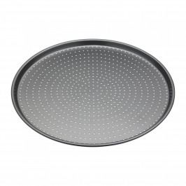 Kitchen Craft Kulatý plech na pečení Pizza Tray ⌀ 32 cm, šedá barva, kov