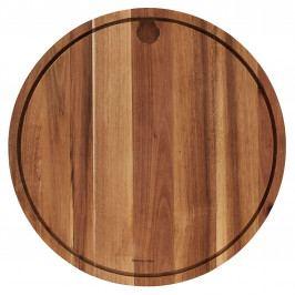 Nicolas Vahé Dřevěné prkénko na maso Acacia 45 cm, hnědá barva, přírodní barva, dřevo