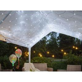 STAR TRADING LED světelná síť Cool White Light 3 x 3 m, bílá barva, plast