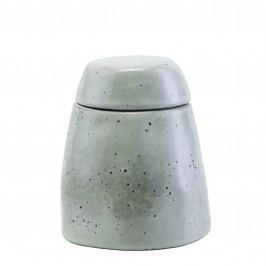 House Doctor Kameninová cukřenka Rustic, šedá barva, keramika