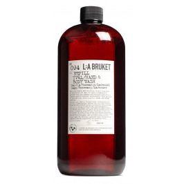L:A BRUKET Náhradní náplň do tekutého mýdla Šalvěj, rozmarýn a levandule 1l, hnědá barva, plast