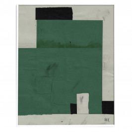Fine Little Day Autorský plakát My place by EKTA 40x50 cm, zelená barva, papír