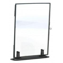 MADAM STOLTZ Fotorámeček Black 13x18 cm, černá barva, čirá barva, sklo, kov