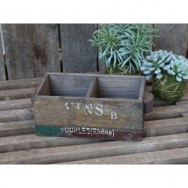 Chic Antique Úložný box Old French Style, multi barva, dřevo, kov