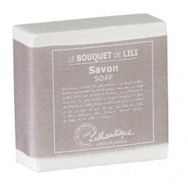 Lothantique Tuhé mýdlo Le Bouquet de Lili 100 g, bílá barva, plast