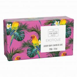 SCOTTISH FINE SOAPS Luxusní tuhé mýdlo Exotika - 220g, růžová barva