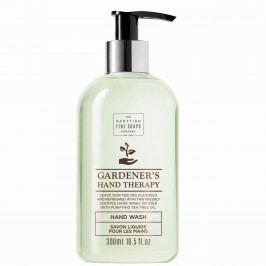 SCOTTISH FINE SOAPS Tekuté mýdlo na ruce Gardeners Therapy 300ml, zelená barva, plast
