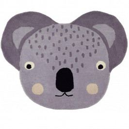 OYOY Dětský vlněný koberec Cute Koala Rug, multi barva, textil